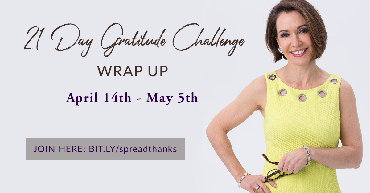 Gratitude Challenge Wrap Up